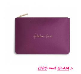 Trousse message by KATIE LOXTON