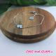 Bracelet chaine croix ZAG