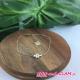 Bracelet chaine adj croix ZAG