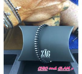 Bracelet acier coll men ZAG