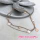 Bracelet adr trefles +strass ZAG