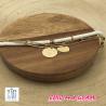 Bracelet 3 rgs médaille positivy Zag