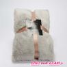 Plaid luxe gris clair