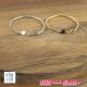 Bague chainette perles ZAG