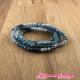 Bracelet 4 rgs perles