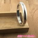 Bracelet jonc 65/6,5 mm métal argt