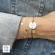 Bracelet cordon rune céramique