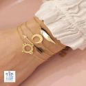 Bracelet ethnique Zag