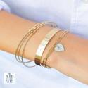 Bracelet  coeur U2  Zag