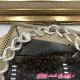 Collier chaine grd maille métal argt