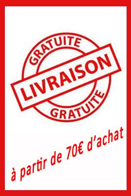 frais de port gratuit 70€